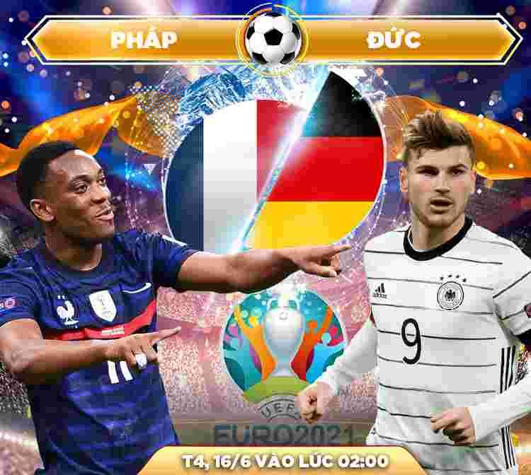 Soi kèo EURO 2021: Pháp với Đức diễn ra lúc 02h00 ngày 16/6/2021