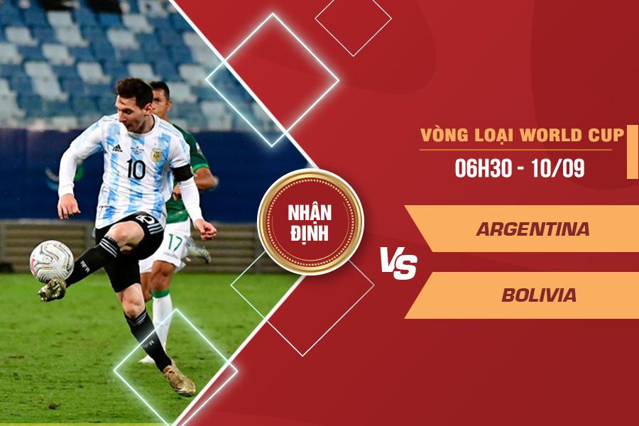 Soi kèo World Cup: Argentina với Bolivia - 06h30 ngày 10/9/2021